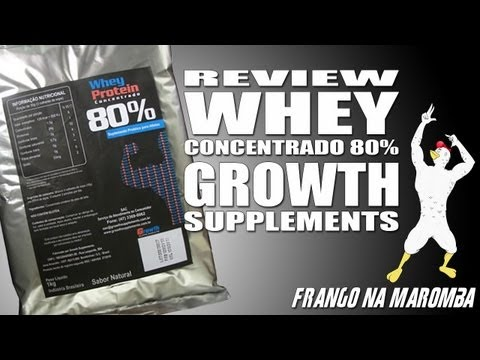 Review: whey concentrado 80% Growth Supplements [FnM-026]