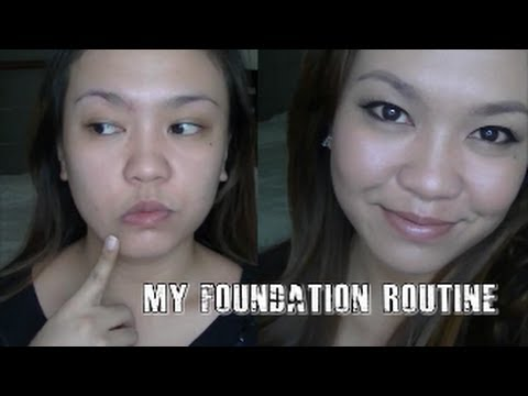 MY FOUNDATION ROUTINE | Tagalog