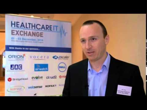 Alex Hay, Head of IT Programmes, IM&T, University Hospital of South Manchester: Why attend