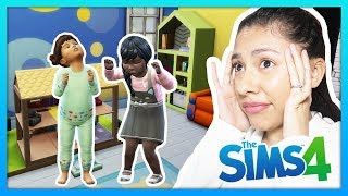 MY DAUGHTERS HATE EACH OTHER!! - The Sims 4 - My Sims Life - Ep 38