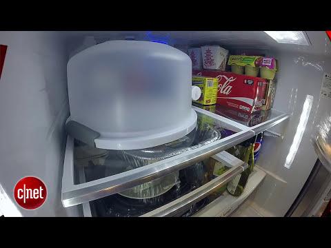 Open up to LG's premium door-in-door fridge