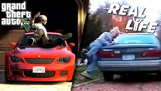 GTA 5 VS REAL LIFE 4 ! (fun, fail, stunt, ...)
