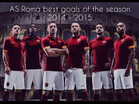 2014 - 2015 Amazing AS Roma Goals |HD|