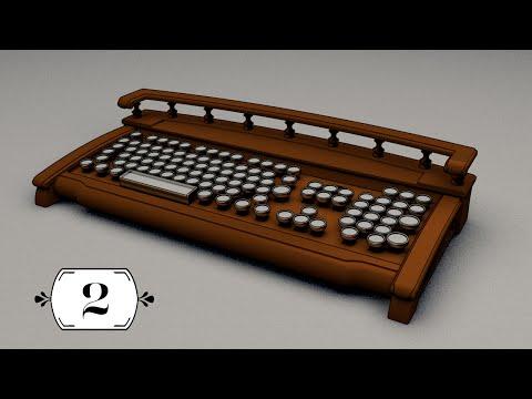 Steampunk keyboard Secretaire Part 2 | Стимпанк клавиатура Секретеръ Часть 2