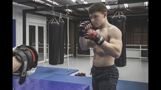 WRESTLING WITH 15 YEARS OLD STRONGEST BOY | Andrey Muscle