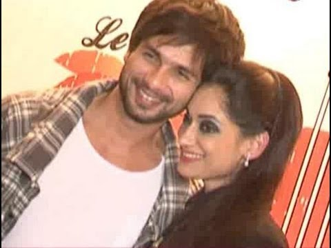 Shahid Kapoor spotted at a party