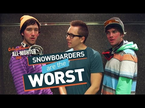 Snowboarders Infest CollegeHumor (All-Nighter 2014)