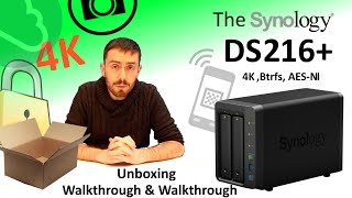 The Synology DS216+ NAS Unboxing, Walkthrough and Talkthrough - The 4K, Dual Core, Btrfs NAS