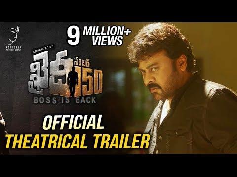 Khaidi No 150 Official Theatrical Trailer    Mega Star Chiranjeevi    V V Vinayak    DSP thumbnail