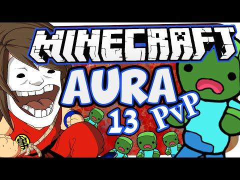 MINECRAFT: AURA PVP SPECIAL ☆ #13 - DIE FALLE! [+SONG] ☆ Let's Play Minecraft: Aura