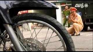 VTC14 | Thanh Hóa: Tiếp tục sử dụng súng bắn lưới chống đua xe trái phép