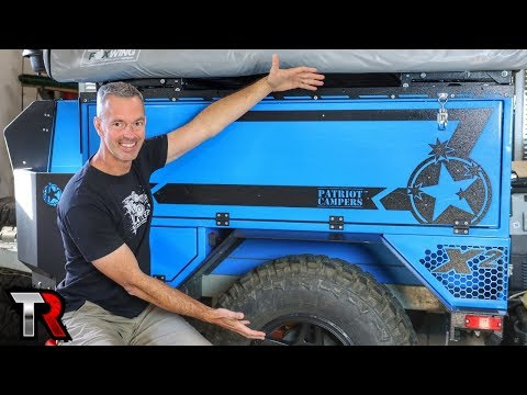 Off-Road Trailers, Broken Jeeps, SEMA and More – TrailRecon Update