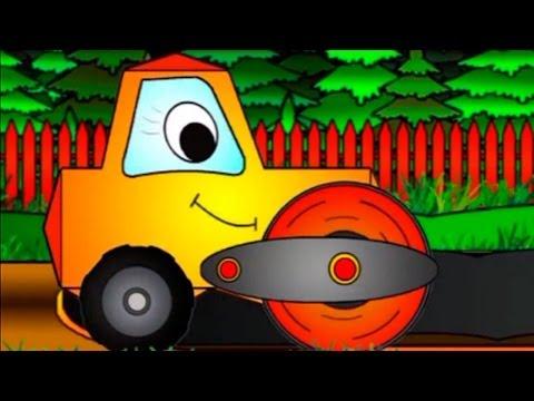Neşeli Şekiller – Asfalt Silindiri – Eğitici Çizgi Film