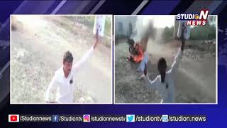 Man Try To Ends His Life At Velugu Office
