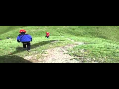 103年7月24日登山客受困,空勤緊急馳援