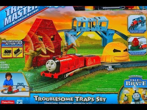 Thomas & Friends TROUBLESOME TRAPS SET 2014 TrackMaster Tale Of The Brave Review