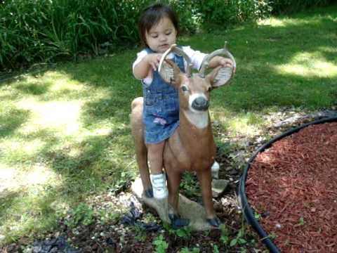 june 6 2010  lia sakay sa deer