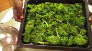 How To: Salt & Vinegar Kale Chips
