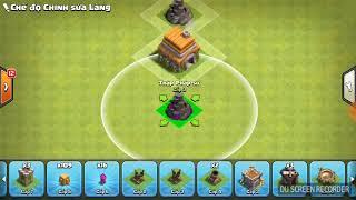 [Clash of clan] cách xếp nhà 6 thủ tốt