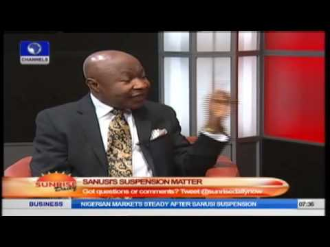 Jonathan Reserves The Right To Suspend Sanusi- Legal Practitioner Prt1