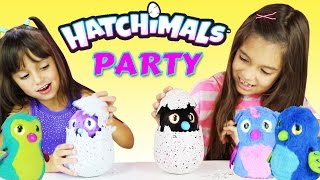 HATCHIMALS Giant Interactive Eggs - Target and Walmart Exclusive Surprise Eggs - Twins are Hatching
