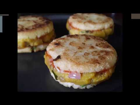 Try this interesting Sandwich Recipe, Definitely you will like it | Aloo Suji Sandwich