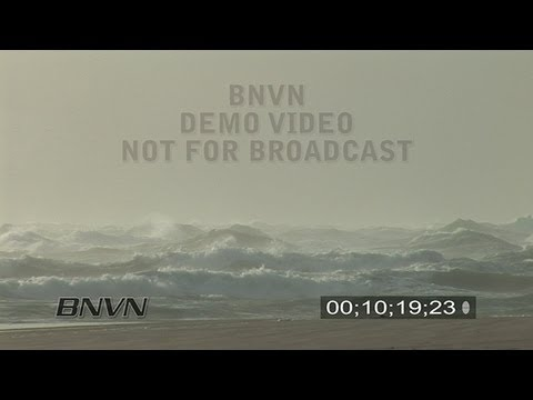 9/9/2007 HD Large Waves Heavy Surf Video