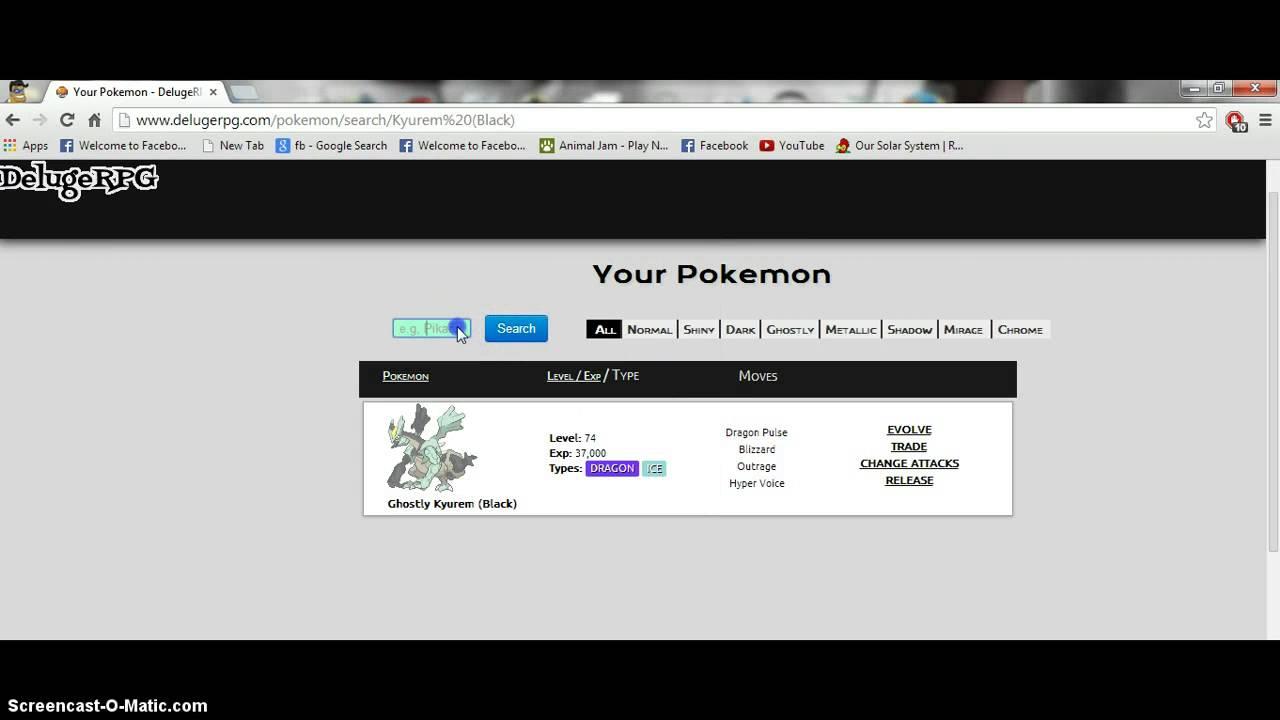 how to catch legendary pokemon in pokemon deluge easily