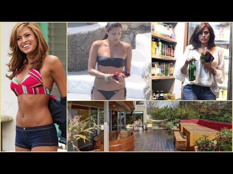Eva Mendes - Rare Photos | House | Childhood | Family | Lifestyle
