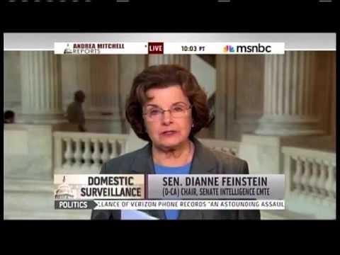 Senator Feinstein on the NSA phone records program