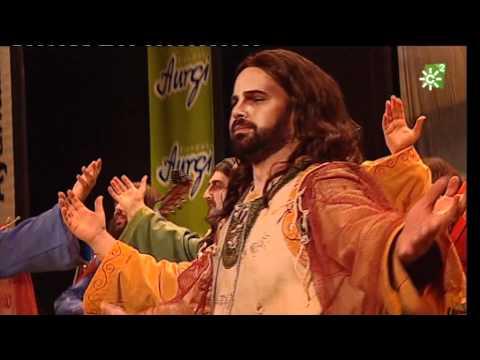 Comparsa . Llamame Jesús \ Actuación Completa en CUARTOS \ Carnaval 2012
