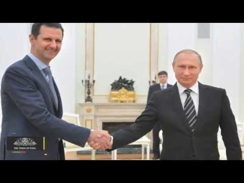 Syria's Assad Flies To Moscow To Thank Russia's Putin For Air Strikes