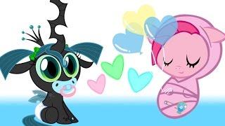 Май Литл Пони .Карманная пони Пинки Пай . Мультик игра для детей . My little pony.