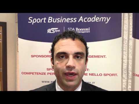 Sport Business Academy – Prof. Dino Ruta (I parte)