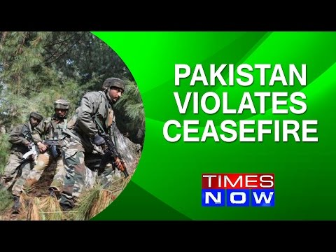 Pakistan violates ceasefire along IB