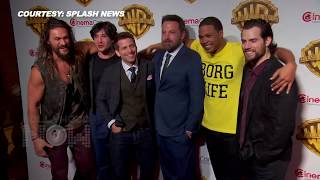 Justice League Cast At CinemaCon 2017 | Ben Affleck, Henry Cavill, Jason Momoa And Zack Snyder