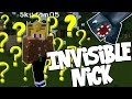 Minecraft - Hunger Games - Invisible Nick!