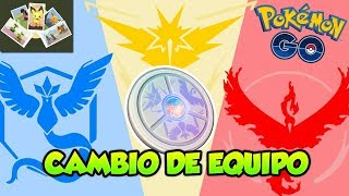 CAMBIO DE EQUIPO, ENCUENTRO POR FOTO, NUEVAS MEDALLAS...ACTUALIZACIÓN 0.135.0 de Pokémon GO