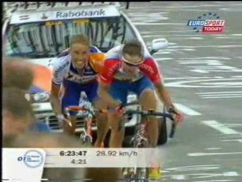 Tour de France 2001 Lance Armstrong Alpe D'Huez 5/5