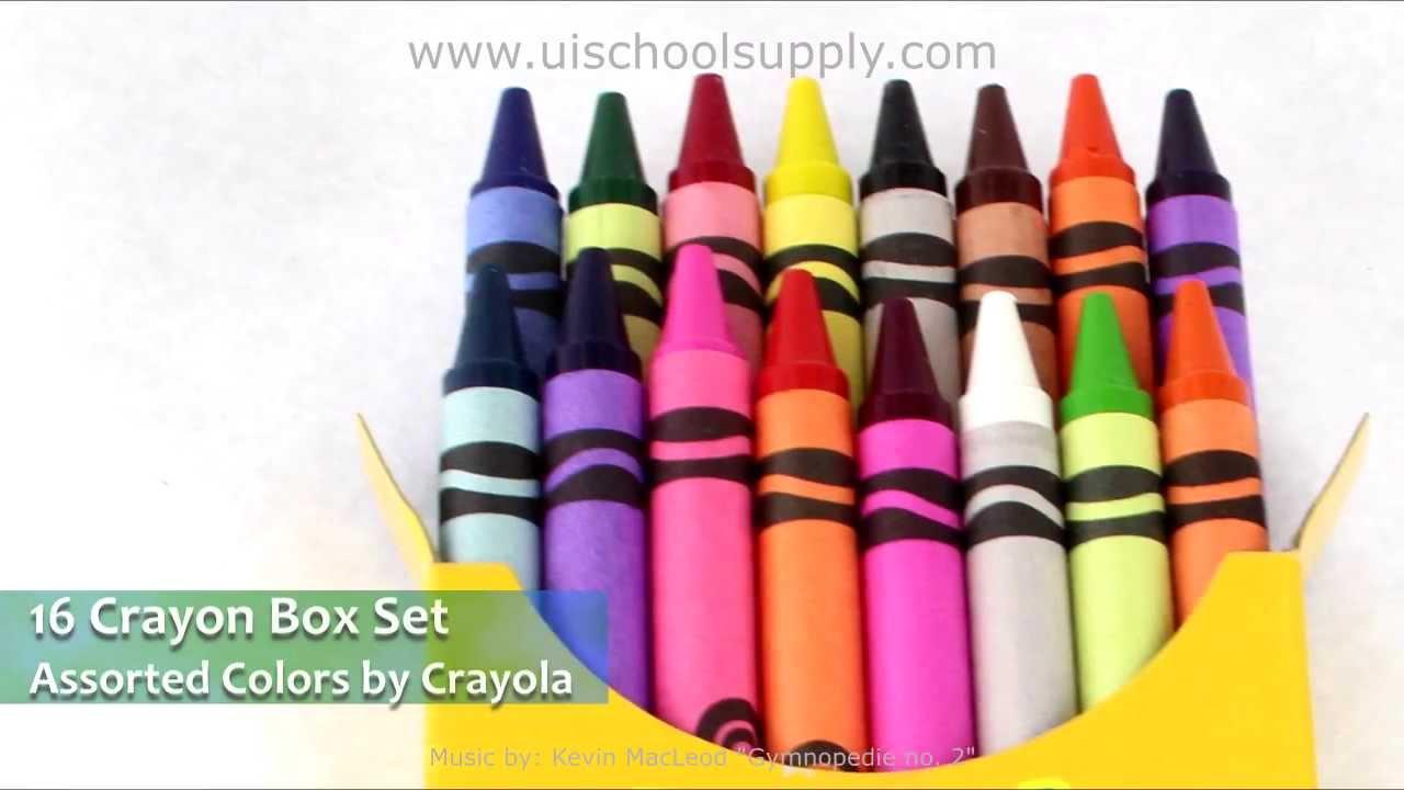 Crayola Crayons 52-001...