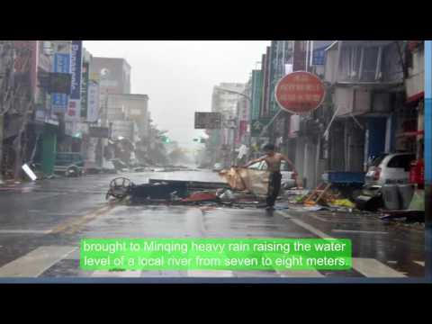 China - Typhoon Nepartak