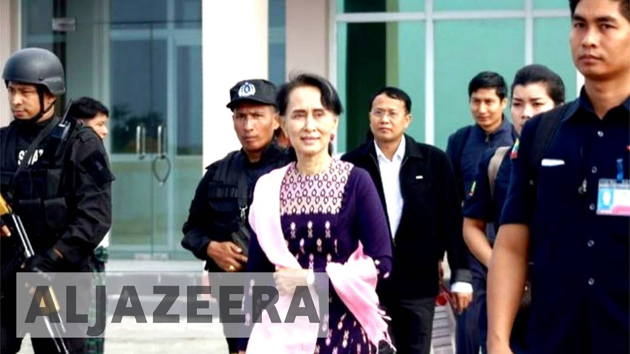 Rohingya crisis: Suu Kyi visits Myanmar's Rakhine state amid mass exodus