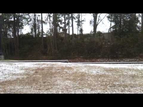 Ice Storm 2014 -- Hattiesburg, MS
