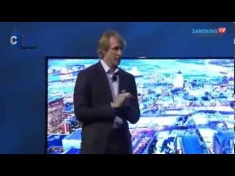 Michael Bay lo traiciona el medio escénico en conferencia de Samsung CES 2014