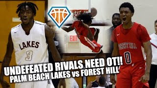 UNDEFEATED RIVALS GO TO WAR IN OVERTIME SHOWDOWN!! | Forest Hill vs Palm Beach Lakes