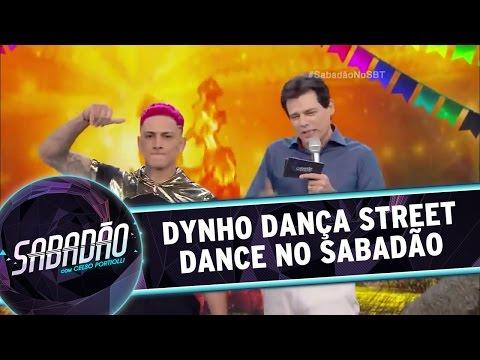 Sabadão com Celso Portiolli (16/07/16) - Dynho dança Street Dance no palco do Sabadão