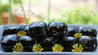 Bánh Ít Lá Gai Tươi Nếp Ngâm Xay -  Steamed Ramie Glutinous Rice Cake