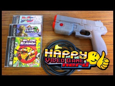 Happy Video Game Nerd: Point Blank Trilogy (PS1)
