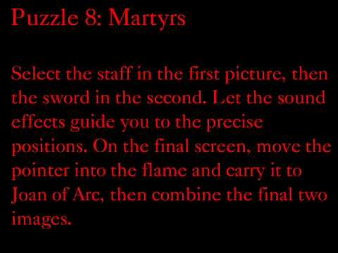 Assassins Creed 2 The Truth puzzle solutions