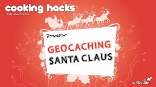 Geocaching Santa Claus (Geolocation Tracker Kit)